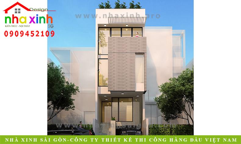 Nhà Phố 3 Tầng 800 Triệu