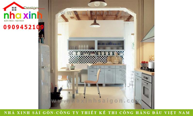 Bếp trang trí nội thất kiểu Ý - Kiến Trúc Nhà Xinh   NT-NX012
