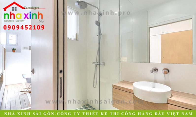 Phòng tắm căn hộ chung cư đẹp   NT-001
