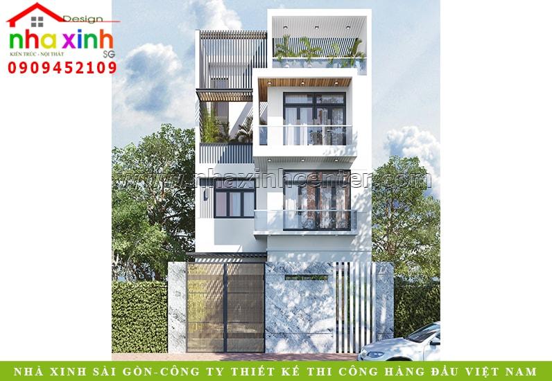 10 Mẫu nhà đẹp 3 tầng có thiết kế ấn tượng 2019