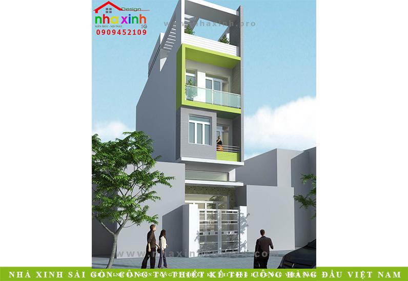 Nhà Phố Đẹp 3 Tầng Anh Hải Bình Tân | NP-NX166