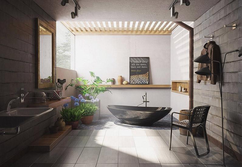40 Ý tưởng Thiết Kế Nội Thất Phòng Tắm Biệt Thự Sang Trọng Đẹp Mê