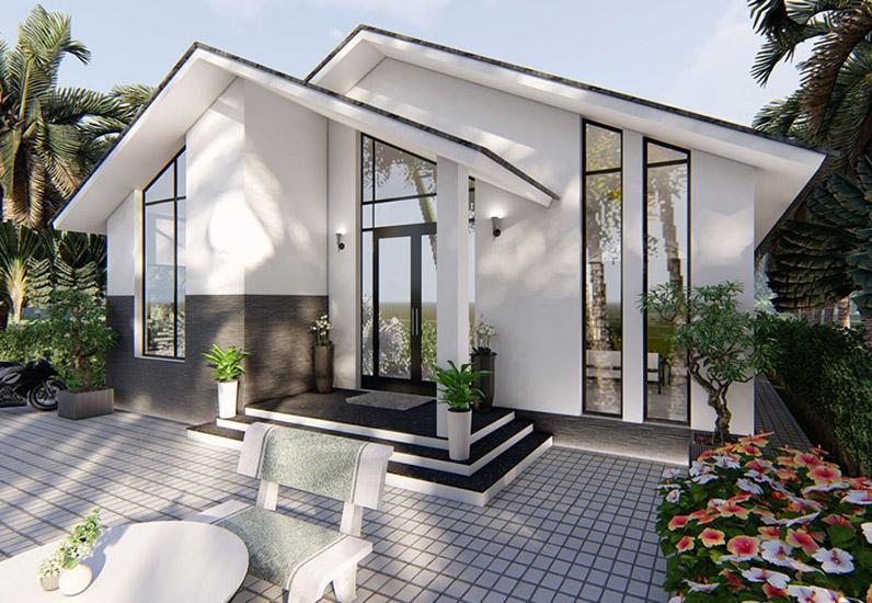 Mẫu Thiết Kế Nhà Cấp 4 Đẹp Giá Rẻ 2021 Dành Cho Vùng Nông Thôn