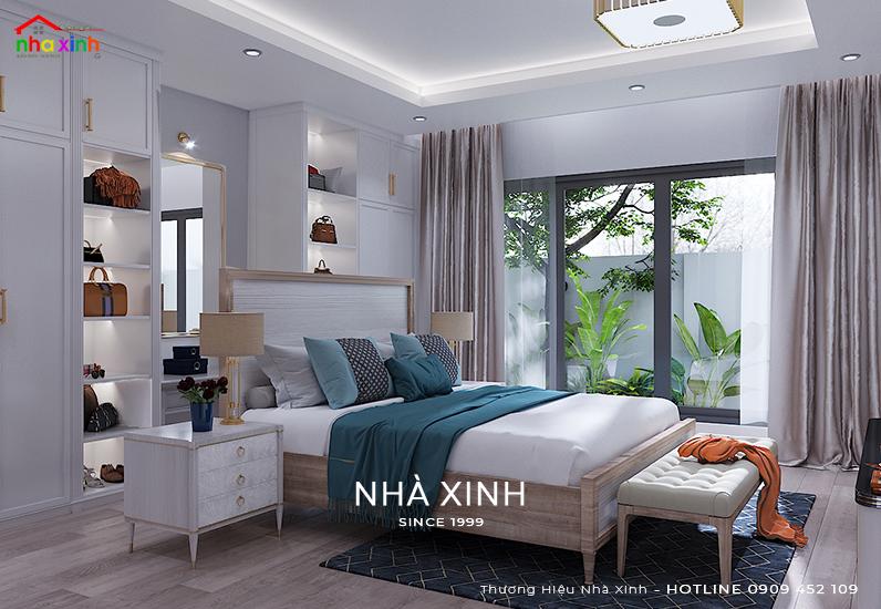 Thiết kế nội thất không gian phòng ngủ