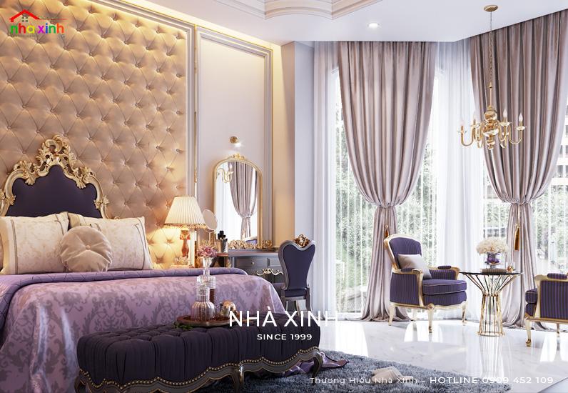 Mẫu thiết kế nội thất phòng ngủ dạng mở