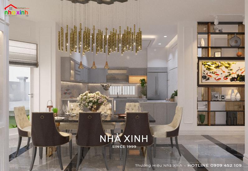 Thiết kế không gian phòng ăn