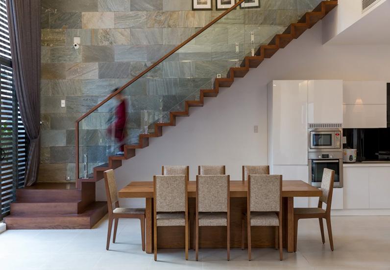 Phòng ăn mẫu nội thất đẹp cho biệt thự