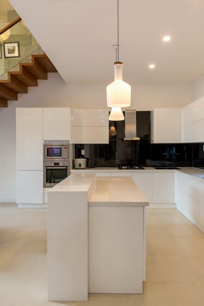 Phòng bếp mẫu nội thất đẹp cho biệt thự