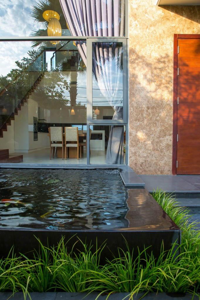 Bể bơi mẫu nội thất đẹp cho biệt thự