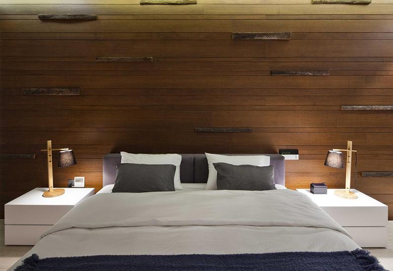 Không gian phòng ngủ nội thất biệt thự đẹp 100m2