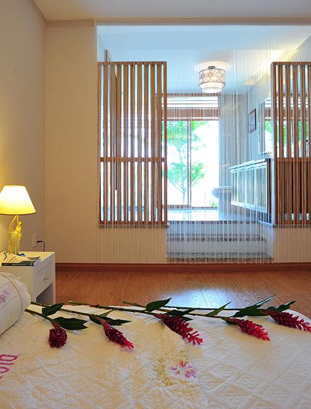 Phòng ngủ mẫu nhà phố đẹp 4 tầng 76m2