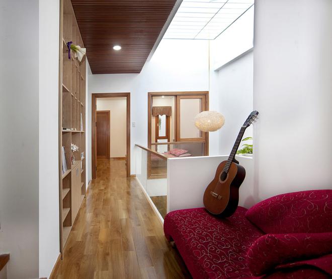 Hành lang mẫu nội thất đẹp cho nhà phố hiện đại