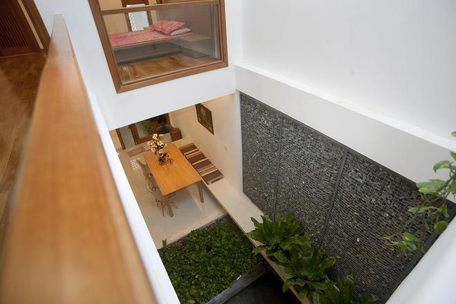 Giếng trời nội thất cho nhà phố 100m2