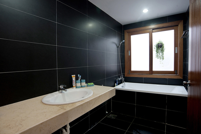 Phòng vệ sinh nội thất cho nhà phố 100m2