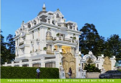 Thiết Kế Biệt Thự Cổ Điển Châu Âu Đẹp | Cô Hiền | Quận 12 | BT161