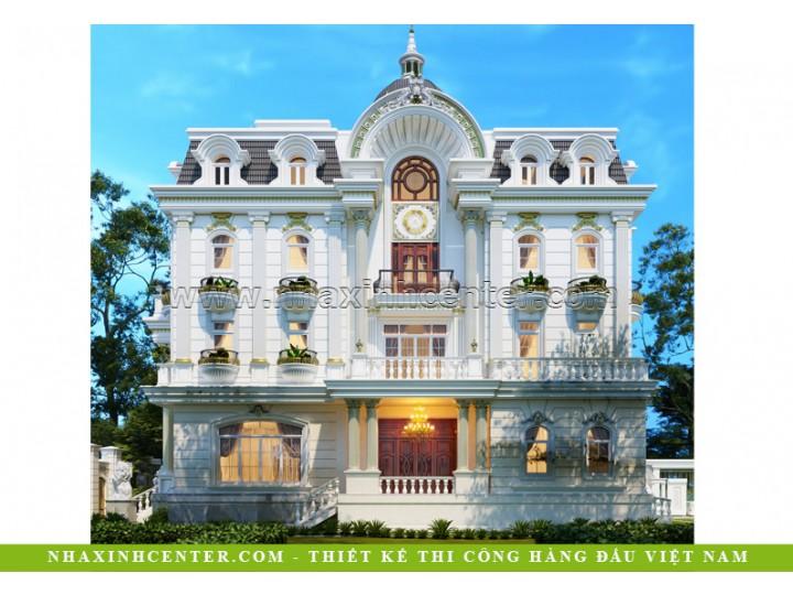 Biệt Thự Cổ Điển Pháp 4 Tầng | Cô Kim Hiền | Quận 2 | BT-202
