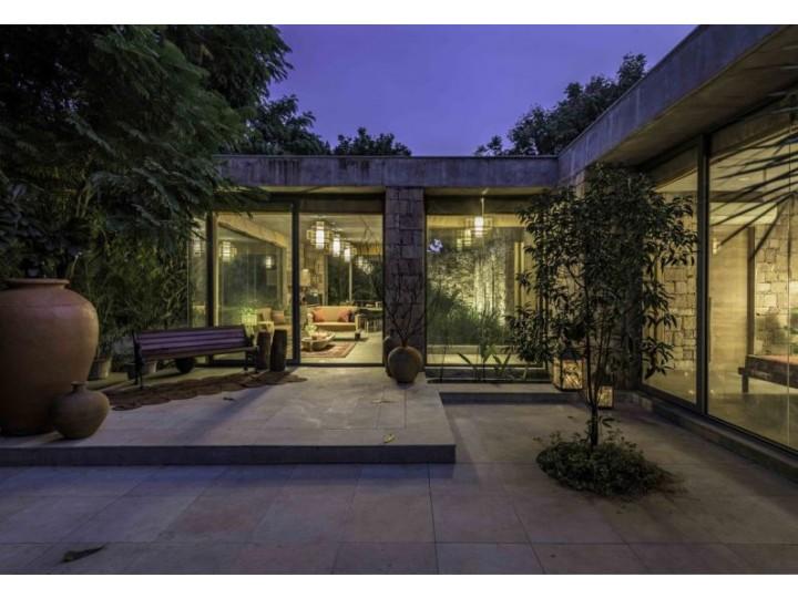 mẫu biệt thự nhà vườn kiểu Ấn Độ