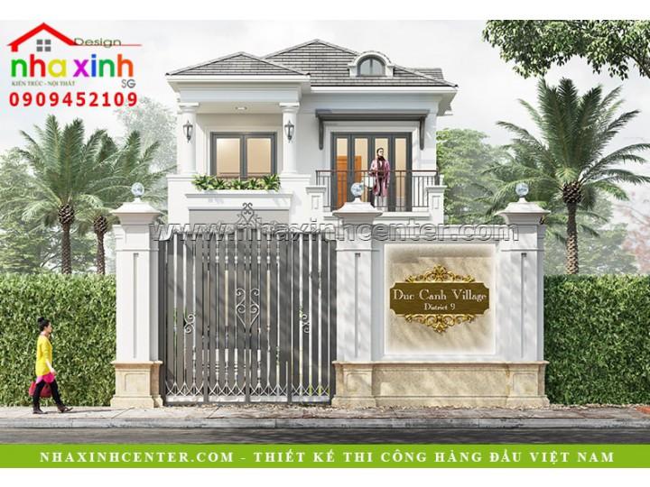 Thiết Kế Biệt Thự Vườn Tân Cổ Điển | Ông Cảnh | Quận 9 | BT-107