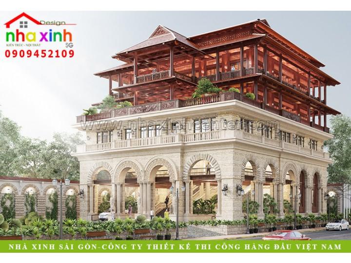 Mẫu Thiết Kế Biệt Thự Hồ Tràm | Ông Lâm | BT-199