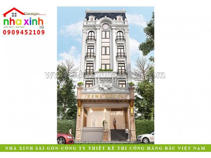 Thiết Kế Khách Sạn Demi | Bùi Thị Xuân Đà Lạt | NP-205