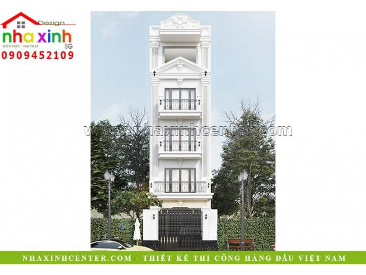 Nhà Phố Tân Cổ Điển 5 Tầng | Bác Hòa | Tân Bình | NP-293