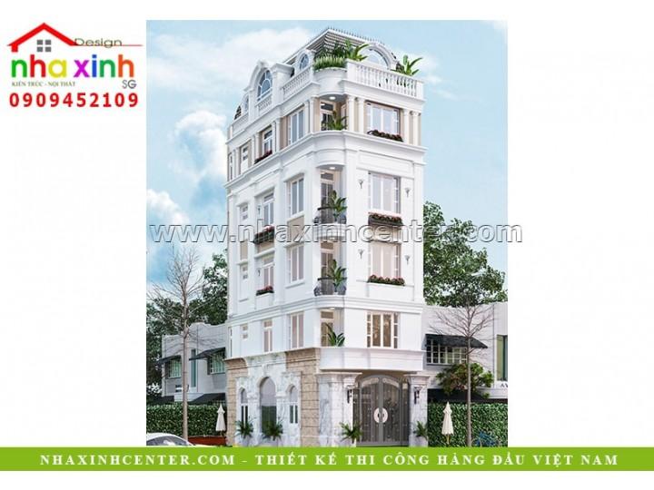 Nhà Phố Đẹp 5 Tầng Cổ Điển | Chị Trang | Quận 10 | NP-176