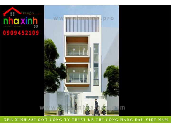 Mẫu Nhà Phố Đẹp Của Diễn Viên NMY 46/1 Trần Quang Diệu | NP-131