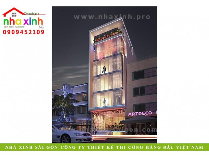 Thiết Kế Khách Sạn Đẹp | A.Hùng | Bến Tre | NP-188