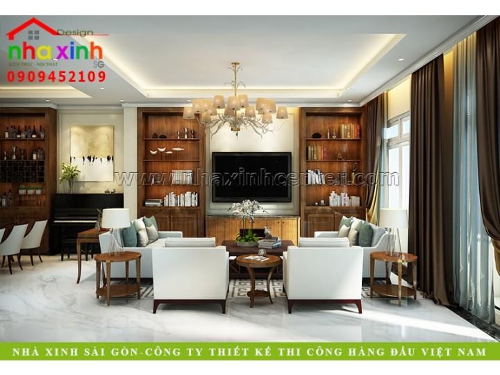 Biệt Thự Phố Có Nội Thất Đẹp Mang Phong Cách Hiện Đại | Chị Mai | NT-157